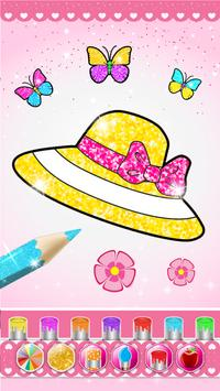 Glitter beauty coloring and drawing screenshot 1
