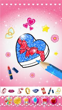 Glitter beauty coloring and drawing screenshot 20