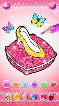 Glitter beauty coloring and drawing screenshot 5