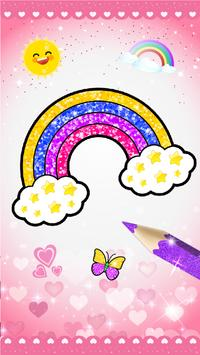 Glitter beauty coloring and drawing screenshot 6