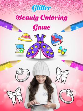 Glitter beauty coloring and drawing screenshot 8