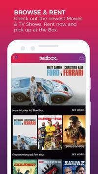 REDBOX: Rent, Stream, Buy New Movies, Free Live TV Affiche
