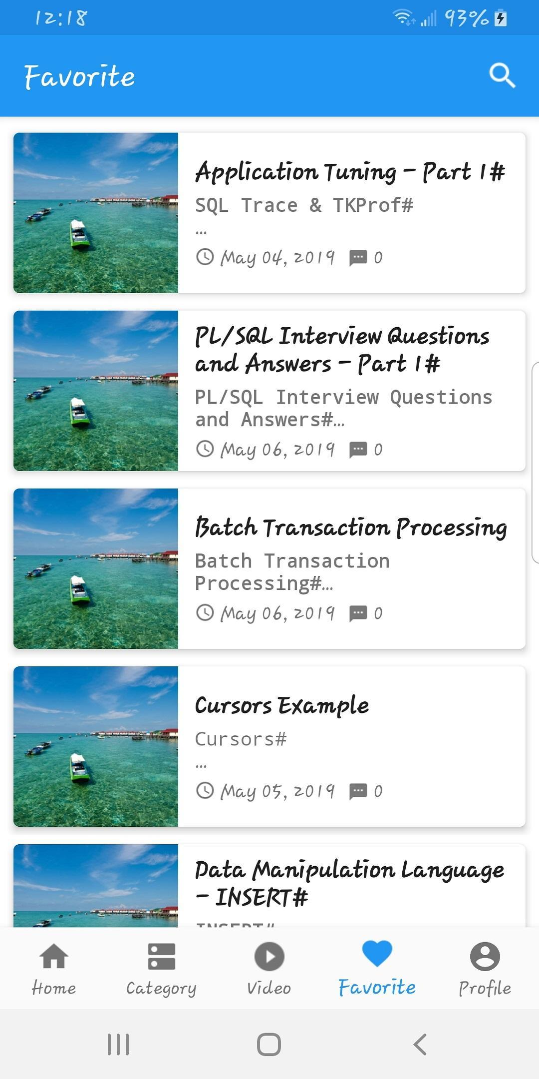 learn oracle for Android - APK Download