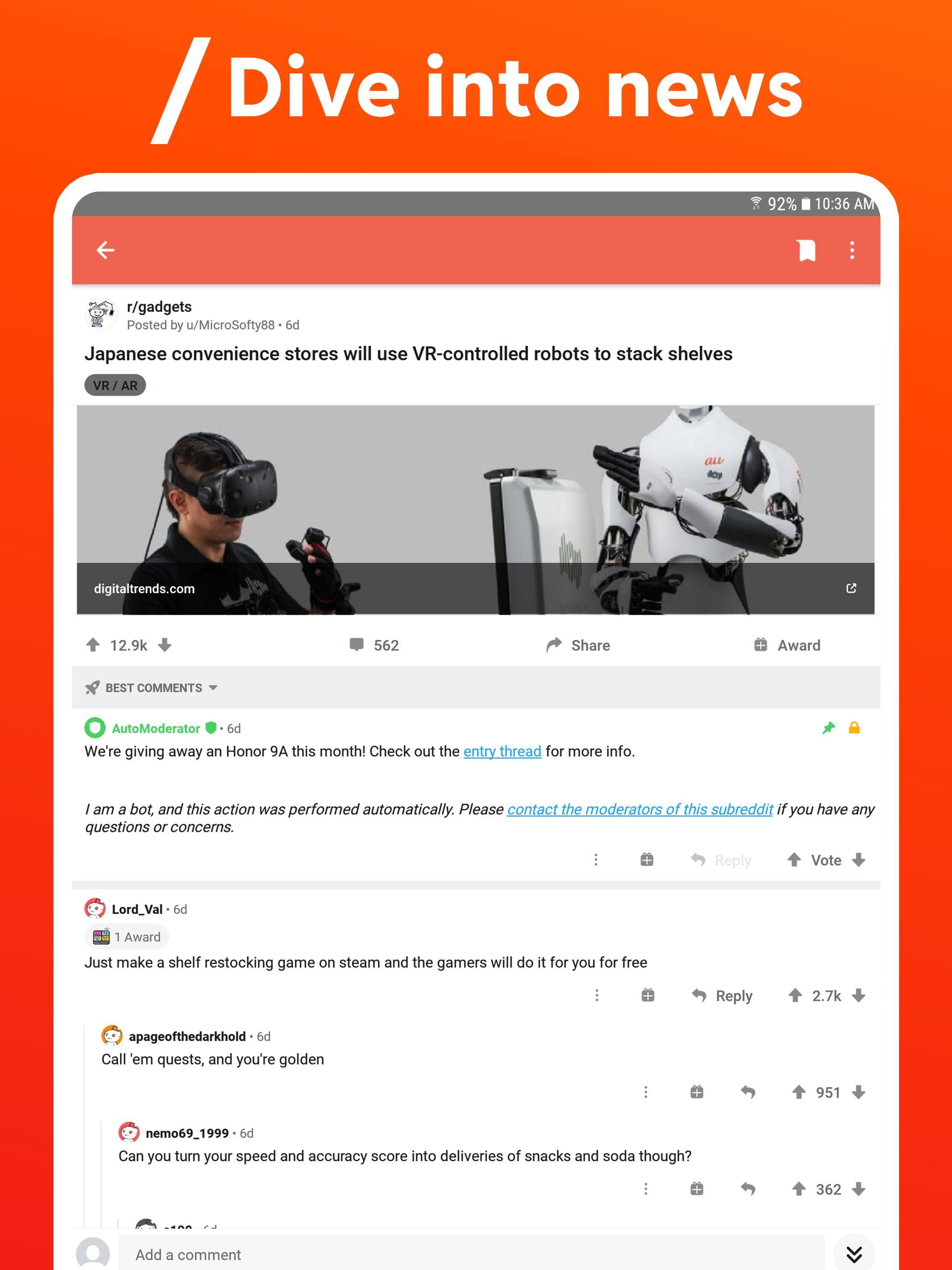 Reddit Apk Download Reddit Official App 2020 41 1 For Android