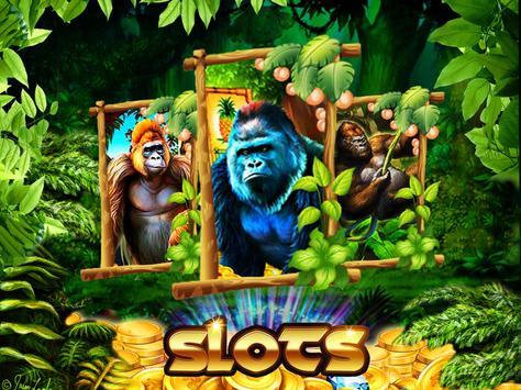 Super Gorilla Casino: Wild Slots screenshot 2