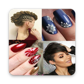 Hairstyle Nail Art Designs for Girls 2019 Free app icon