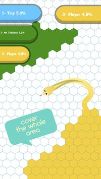 Hexagon.io Snake: Paper Draw! poster