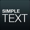 ikon Simple Text