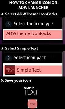 Simple Text captura de pantalla 4