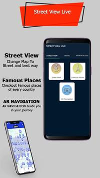 Street View Live 2019 – GPS Navigation Earth Map poster