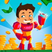 Idle Hero Clicker Game: Win the epic battle icon
