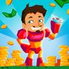 Idle Hero Clicker Game: The battle of titans icon