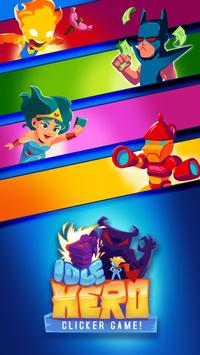 Idle Hero Clicker Game: Win the epic battle poster