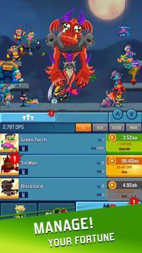 Idle Hero Clicker Game: Win the epic battle screenshot 1