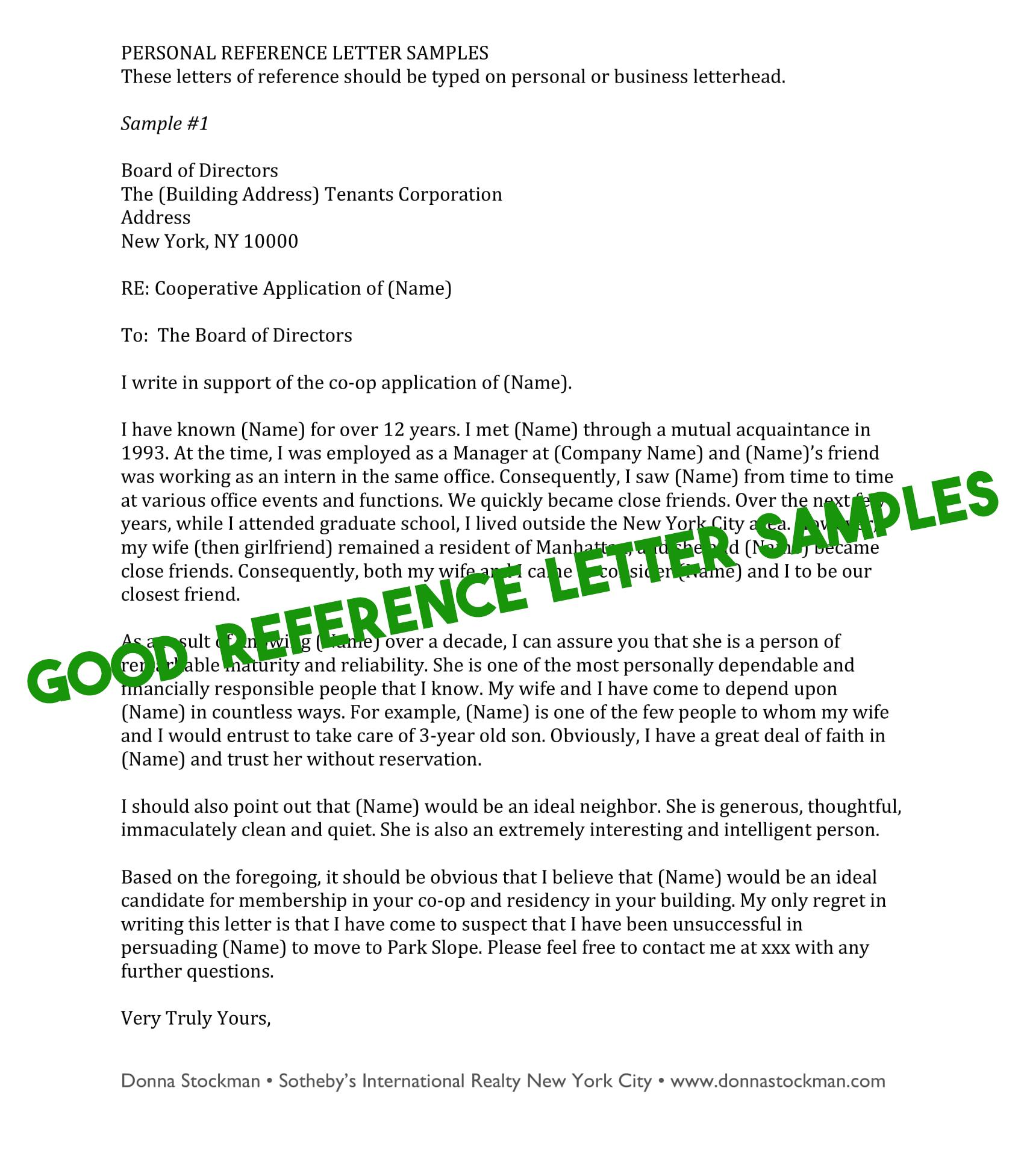 Personal Reference Letter Sample For A Friend from image.winudf.com