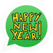 Happy New Year Stickers (WAStickerApps) icon