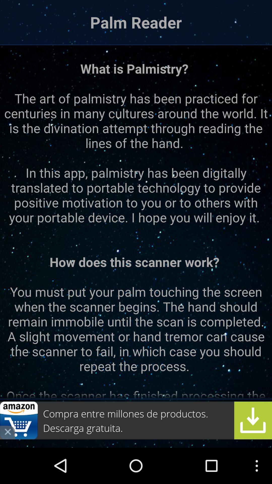 Palm Reading Scanner Palmistry Joke For Android Apk Download