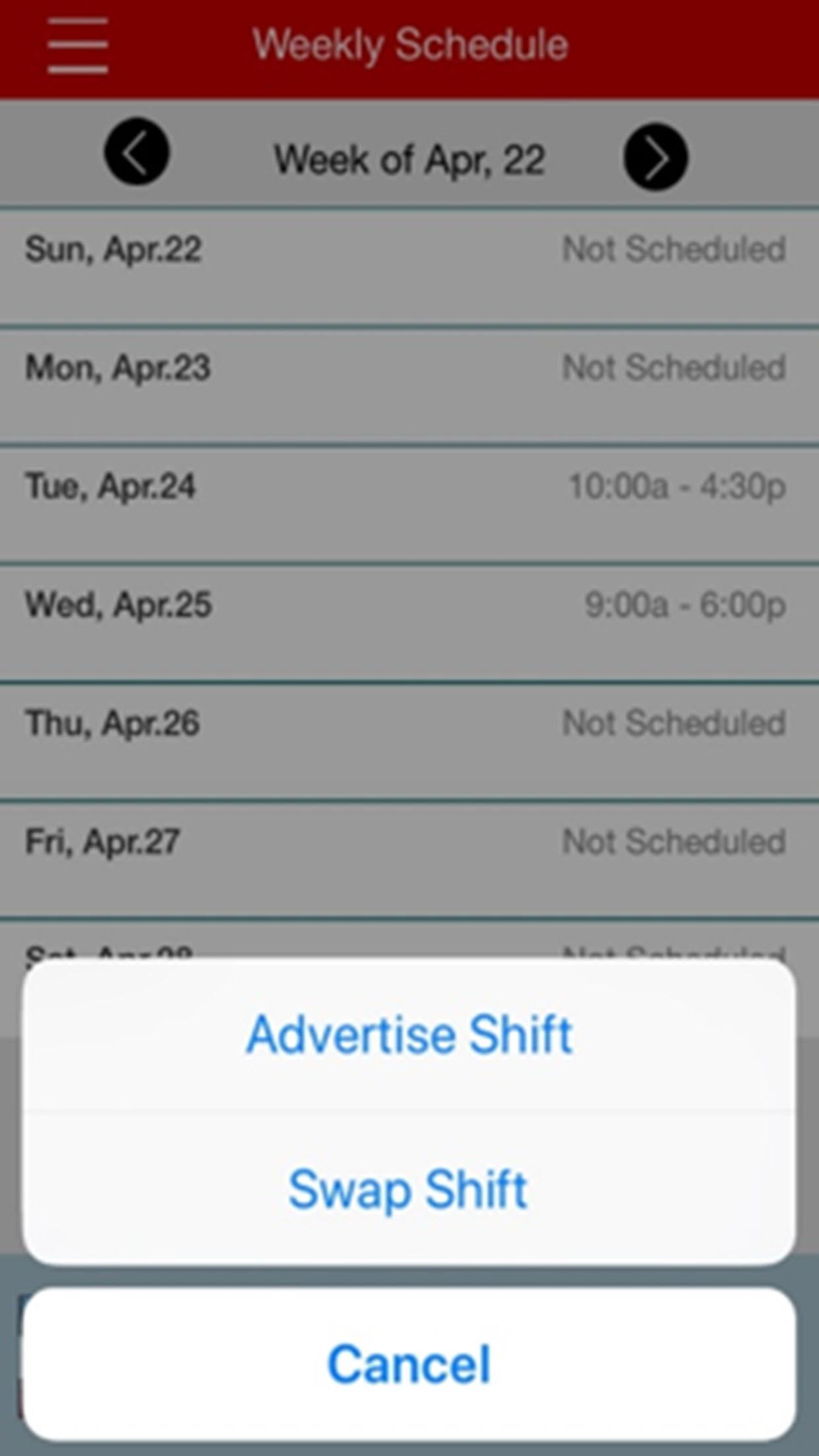 CVS mySchedule ESS for Android - APK Download