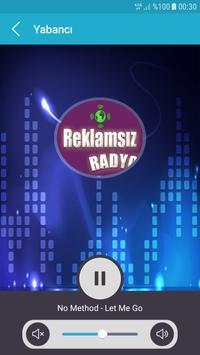 REKLAMSIZ RADYO screenshot 8