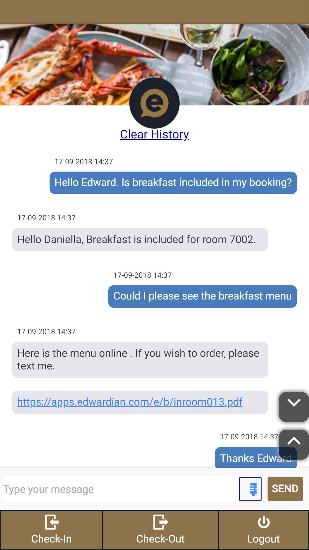 Edward™, Your Virtual Host for Android - APK Download