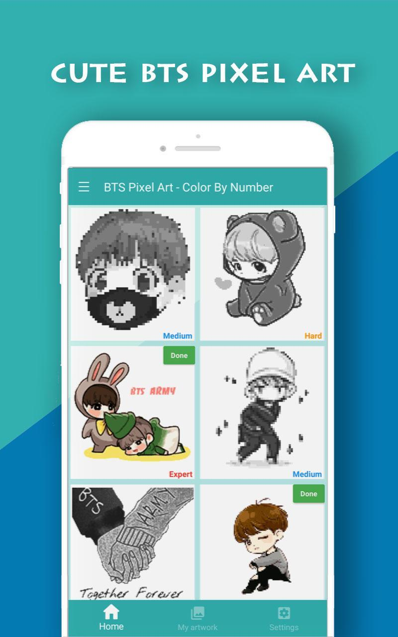 Doll Pixel Art Color By Number For Android Apk Download