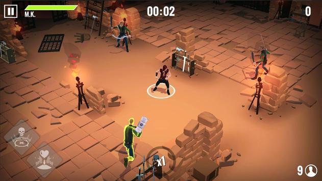 4 Schermata Into the Badlands Blade Battle - Action RPG