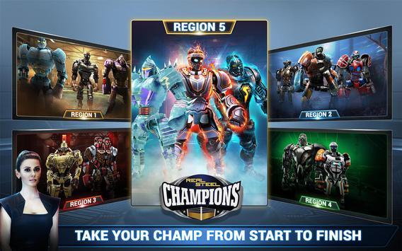 Real Steel Boxing Champions تصوير الشاشة 19