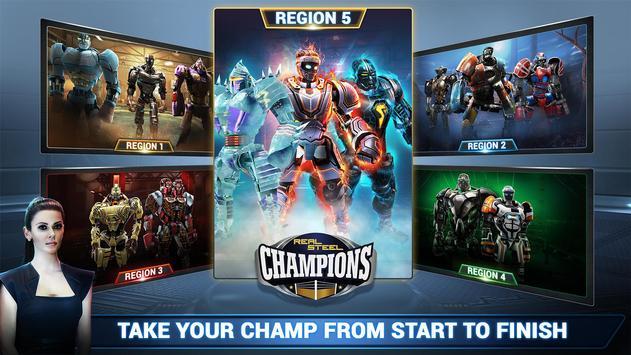 Real Steel Boxing Champions تصوير الشاشة 5