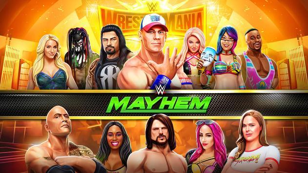 WWE Mayhem الملصق