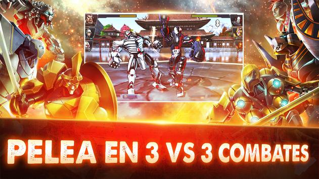 Ultimate Robot Fighting captura de pantalla 2