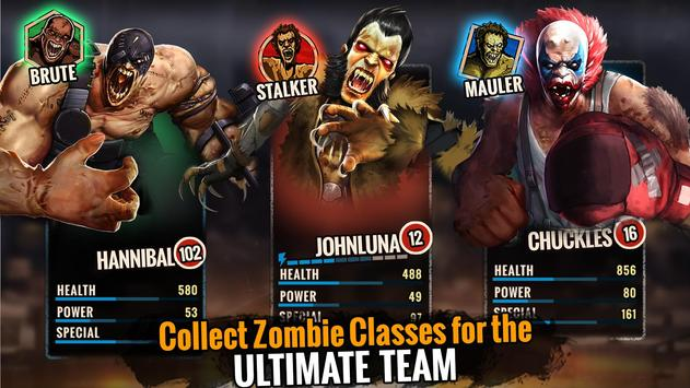 Zombie Ultimate Fighting Champions تصوير الشاشة 3