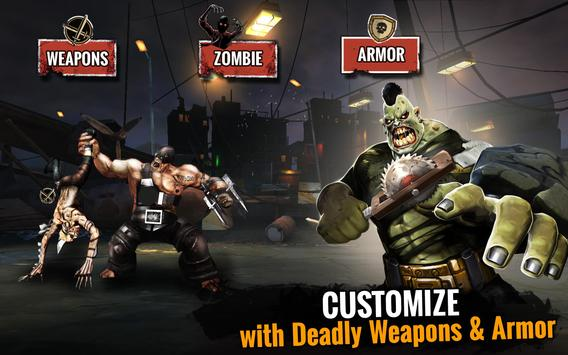 Zombie Ultimate Fighting Champions تصوير الشاشة 10