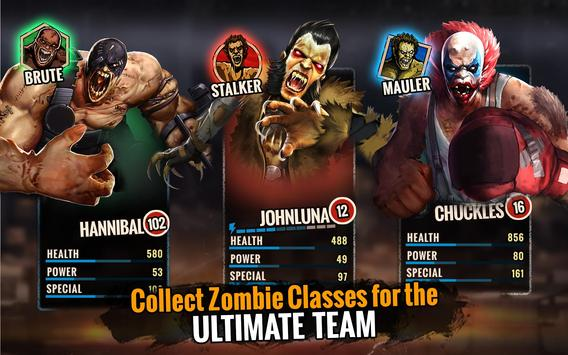 Zombie Ultimate Fighting Champions تصوير الشاشة 13