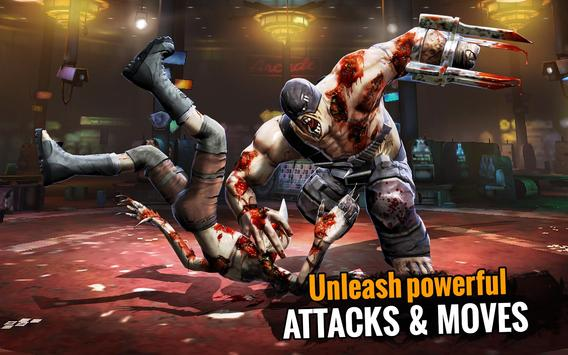 Zombie Ultimate Fighting Champions تصوير الشاشة 15