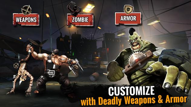 Zombie Ultimate Fighting Champions تصوير الشاشة 1