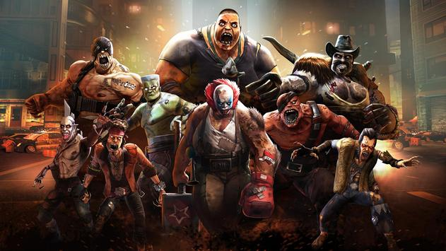 Zombie Ultimate Fighting Champions تصوير الشاشة 2