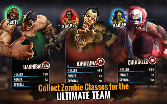Zombie Ultimate Fighting Champions تصوير الشاشة 7
