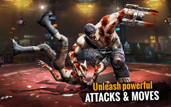Zombie Ultimate Fighting Champions تصوير الشاشة 9