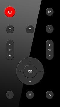 टीवी के लिए रिमोट कंट्रोल स्क्रीनशॉट 1
