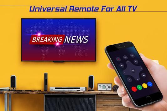 Universal TV Remote Contol screenshot 1