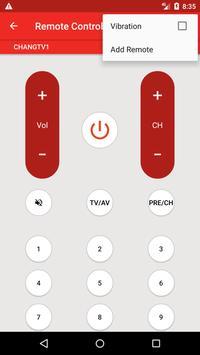 Changhong TV Remote screenshot 5