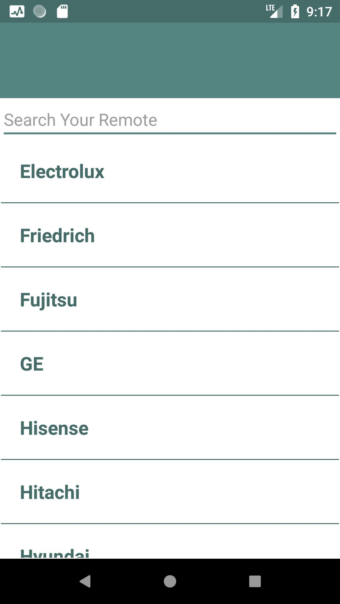 Electrolux AC Remote Control for Android - APK Download