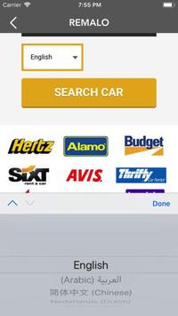Remalo.com Car Rental App screenshot 1