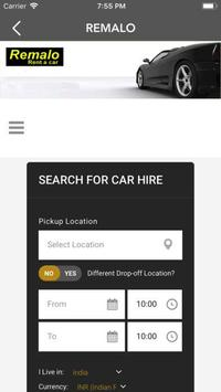 Remalo.com Car Rental App screenshot 2
