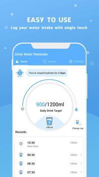 Wassererinnerung - Wasser trinken erinnern Screenshot 16