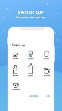 Wassererinnerung - Wasser trinken erinnern Screenshot 10