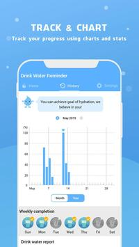 Wassererinnerung - Wasser trinken erinnern Screenshot 13