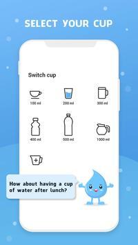 Wassererinnerung - Wasser trinken erinnern Screenshot 1