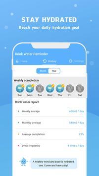 Wassererinnerung - Wasser trinken erinnern Screenshot 20