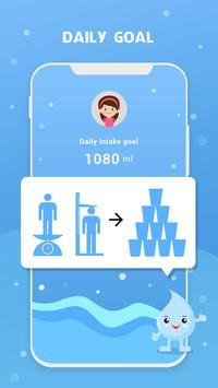 Wassererinnerung - Wasser trinken erinnern Screenshot 2
